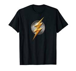 Justice League Movie Flash Logo T Shirt von DC Comics