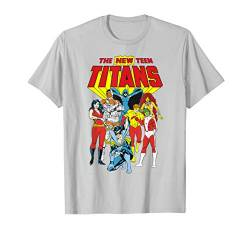 Justice League New Teen Titans T-Shirt von DC Comics