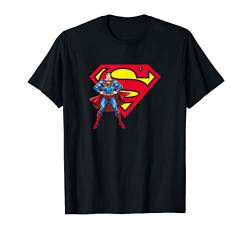 Superman Superman & Logo T Shirt von DC Comics