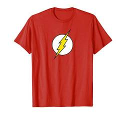 The Flash Retro Logo T Shirt von DC Comics