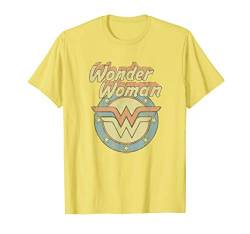 Wonder Woman Faded Wonder T Shirt von DC Comics