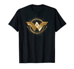 Wonder Woman Movie Golden Lasso Logo T Shirt von DC Comics