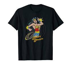 Wonder Woman Spinning T Shirt von DC Comics