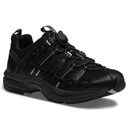 DR. COMFORT Refresh Women's Therapeutic Diabetic Extra Depth Shoe: Black/Black 4 Wide (C-D) von DR. COMFORT