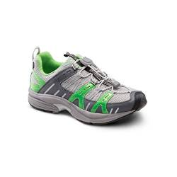 DR. COMFORT Refresh Women's Therapeutic Diabetic Extra Depth Shoe: Grey/Lime 4 X-Wide (E-2E) von DR. COMFORT