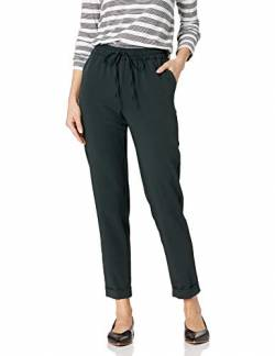 Daily Ritual Fluid Stretch Woven Twill Cuffed Pants, moosgrün, US M (EU M - L) von Daily Ritual
