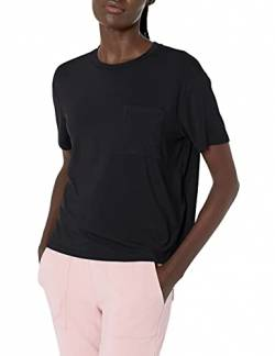 Daily Ritual Jersey Short-Sleeve Boxy Pocket Tee fashion-t-shirts, navy, US S (EU S - M) von Daily Ritual