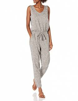 Daily Ritual Supersoft Terry Sleeveless jumpsuits-apparel, Heather Grey Spacedye, US S (EU S - M) von Daily Ritual