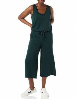 Daily Ritual Supersoft Terry Sleeveless Jumpsuit Pants, moosgrün, US M (EU M - L) von Daily Ritual