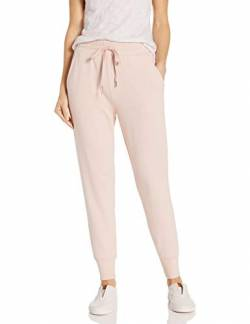 Daily Ritual Terry Cotton and Modal Jogger Pants, Helles Pfirsich, US L (EU L - XL) von Daily Ritual