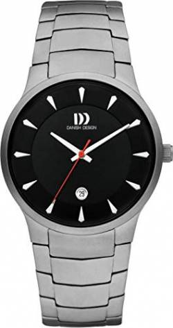 Herrenuhr Ø 39mm Danish Design 3316353 Zifferblatt IQ63Q1275 schwarz von Danish Design
