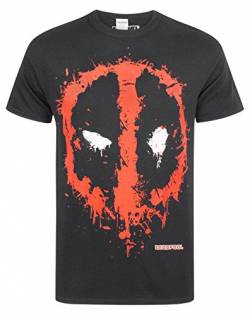 Deadpool Marvel Splat Logo Men's T-Shirt (XL) von Deadpool