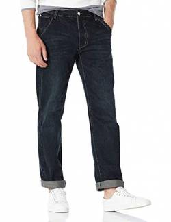 Demon&Hunter 809 Serie Loose Fit Jeans Herren Jeans Bootcut Straight Jeanshose DH8009-1(29) von Demon&Hunter