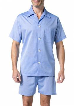 DEREK ROSE Shortie Pyjama Set 6250/AMAL001BLU von Derek Rose