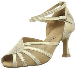 Diamant Damen Latein Tanzschuhe 020-087-017 Standard & Latein, Gold (Gold Magic), 40 2/3 EU von Diamant
