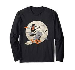 Disney Minnie Mouse Flying Witch Costume Halloween Langarmshirt von Disney