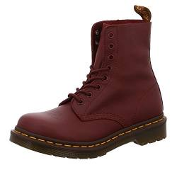 Dr. Martens PASCAL Virginia CHERRY RED, Damen Combat Boots, Rot (Red (Cherry Red Virginia 411)), 36 EU (3 Damen UK) von Dr. Martens