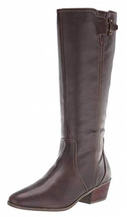 Dr. Scholl's Shoes Damen BRILLIANCE Kniehohe Stiefel, Fudge Brown Smooth, 39 EU von Dr. Scholl's Shoes