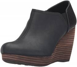 Dr. Scholl's Shoes Women's Harlow Ankle Boot, Black, 7.5 W US von Dr. Scholl's Shoes