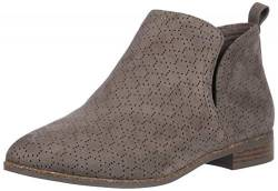 Dr. Scholl's Shoes Women's Rate Ankle Boot, Olive Perforated Microfiber Suede, 6.5 W US von Dr. Scholl's Shoes