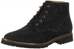 Driver Club USA Damen Leather Eva Lightweight Technology Lace-Up Ankle Boot Stiefelette, Schwarze Velourslederoptik, 38 EU von Driver Club USA
