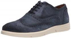 Driver Club USA Herren Leather Luxury Eva Lightweight Technology Wingtip Sneaker Turnschuh, Jeans Wildleder, 47 EU von Driver Club USA