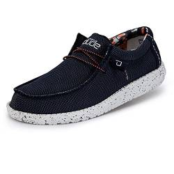 Hey Dude Wally Sox Colour: Blue Multi, Size: EU41 von Dude Shoes