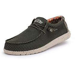Dude Shoes Männer Wally Sox Mesh Moschus UK7 / EU41 von Dude Shoes