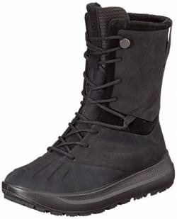 ECCO Damen Solice W Yabuck Yak Fashion Boot, Schwarz (Black), 36 EU von ECCO