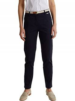 ESPRIT Collection Damen 030EO1B308 Hose, 400/NAVY, 34/30 von ESPRIT Collection