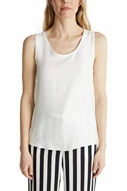 ESPRIT Collection Damen 030EO1K333 T-Shirt, 110/OFF White, S von ESPRIT Collection