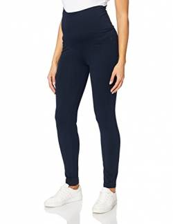 ESPRIT Maternity Damen Legging OTB Umstandsleggings, Blau (Night Blue 486), 42 (Herstellergröße: XL/XX-Large) von ESPRIT Maternity