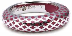 Esprit Jewels Damen-Ring Lattice red 925 Sterlingsilber 18 S.ESRG91919B180 von ESPRIT