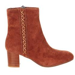 Earth Damen Sparta Booties (10 B US, Zimt) von Earth Shoes