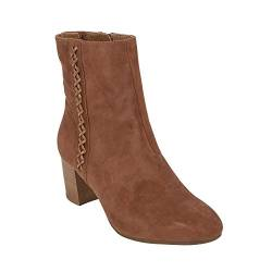 Earth Womens Sparta Booties (8 B US, Cinnamon) von Earth Shoes