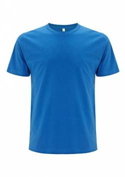 EarthPositive - Men's Organic T-Shirt / Bright Blue, XL von EarthPositive