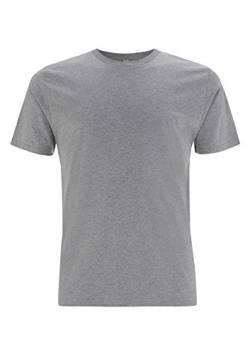 EarthPositive - Men's Organic T-Shirt/Melange Grey, L von EarthPositive