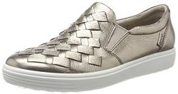 Ecco Damen SOFT 7 LADIES Slip On Sneaker,Grau (WARM Grey),42 EU (8.5 UK) von ECCO