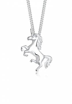 Elli Halskette Damen Einhorn Unicorn Magic in 925 Sterling Silber von Elli