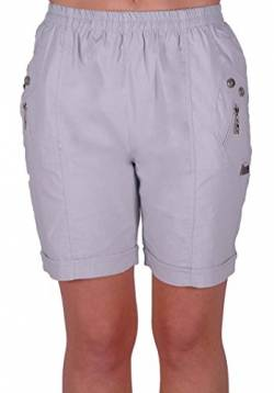 EyeCatch - Damen Entspannte Komfort Elasticized Flexi Stretch Damen Shorts Mollige von Eye Catch