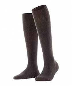 FALKE Damen Socken, Softmerino W KH-47438, Braun (Dark Brown 5239), 35-36 von FALKE