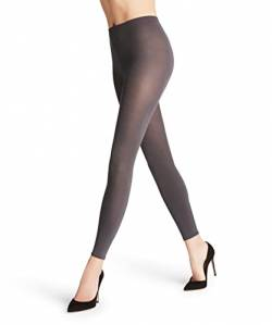 FALKE Damen Cotton Touch Leggings, Grau (Anthramix 3499), M (40-42) von FALKE