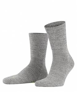 FALKE Unisex Socken, Walkie Light U SO-16486, Grau (Graphit Melange 3060), 39-41 von FALKE