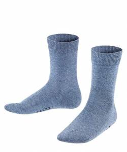 Falke Family SO 10645 Unisex - Kinder Socken, Gr. 19-22, Blau (light blue) von FALKE