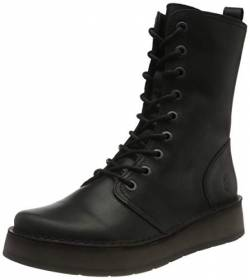 FLY LONDON Damen RAMI043FLY Halblange Stiefel, BLACK, 36 EU von FLY London