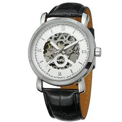 FORSINING Men's Automatic Skeleton Analog Watch with Stainless Steel Bracelet WRG8067M4B1 von FORSINING