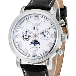 Forsining Mens Luxury Automatic Day-Night Calendar Wrist Watch JAG349M3S1 von FORSINING