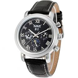Forsining Mens Luxury Automatic Day-Night Calendar Wrist Watch JAG349M3S2 von FORSINING