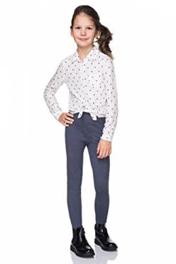 FUTURO FASHION - Kinder Winterleggings - dick - lang - extra warm und atmungsaktiv - CHD28 - Denim - 12-13 Jahre von FUTURO FASHION