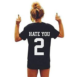 "Faith Wings Frauen Individualität I Hate You 2"" T Shirt von Faith Wings"